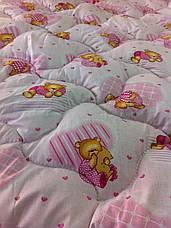 Одеяло для младенцев 110*140 (100% хлопок, шерсть голд), фото 2
