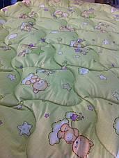 Одеяло для младенцев 110*140 (100% хлопок, шерсть голд), фото 3