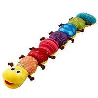 Cute Cartoon Caterpillar Плюшевые куклы с Ring Bell Раннее обучение Обучающие игрушки для детей Цветной