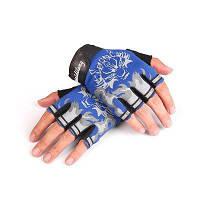CTSmart 013 пара водонепроницаемых перчаток с открытыми пальцами Синий