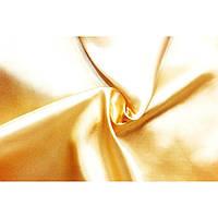 Стрейч атлас (светло-золотой)