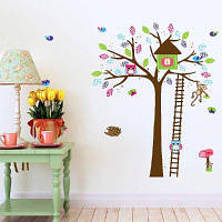 DSU Cartoon Animal Wall Sticker для украшения детской комнаты Разноцветный