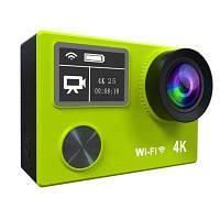 4К Водонепроницаемое спортиное цифровое видео с двойной панелью 1080P полная HD WIFI 170 градусов 6 стекло мини многофункциональная камера Жёлтый