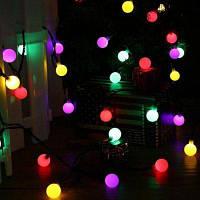 Jiawen Рождественские огни строки 5м 50 светодиодов RGB праздничный бал свет переменного тока 110v США
