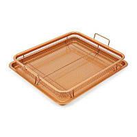Кухонная плита для картофеля фри из нержавеющей стали Коричневый