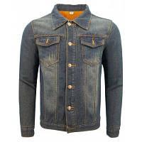 Зимняя Европа и Соединенные Штаты Мужская одежда для мужчин в стиле casual Slim Jacket Trend и утолщенная жакет из телячьей ткани XL
