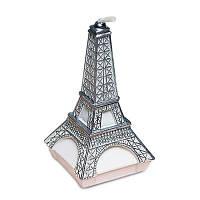 Свечи бездымного украшения с творческой форме Эйфелевой башни Серебристый