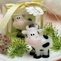Формы Коровы Бездымного Свечи День Рождения Рождество Декор Белый