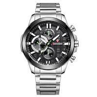 LONGBO 80225 Мужчины Спорт Досуг Нержавеющая сталь Группа Кварцевые часы Мужчина