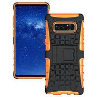 Устойчивый к царапинам устойчивый к царапинам защитный чехол для Samsung Galaxy Note 8 Оранжевый