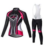 Malciklo 2018 зимняя теплая одежда для велоспорта XL