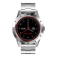 NEWWEAR N6 Смарт часы совместимость с Андроид iOS смарт браслет Браслет из нержавеющей стали