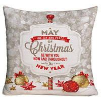 Рождественский Письмо Печать Декоративный Подушка Подушки ширина17,5 дюймов * длина17,5 дюймов