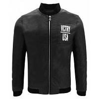 Осень Зима Мужская Мотоцикл Мода Кожа PU Бейсбол Одежда Стенд Ошейник Прохладный Тонкий короткий куртка XL