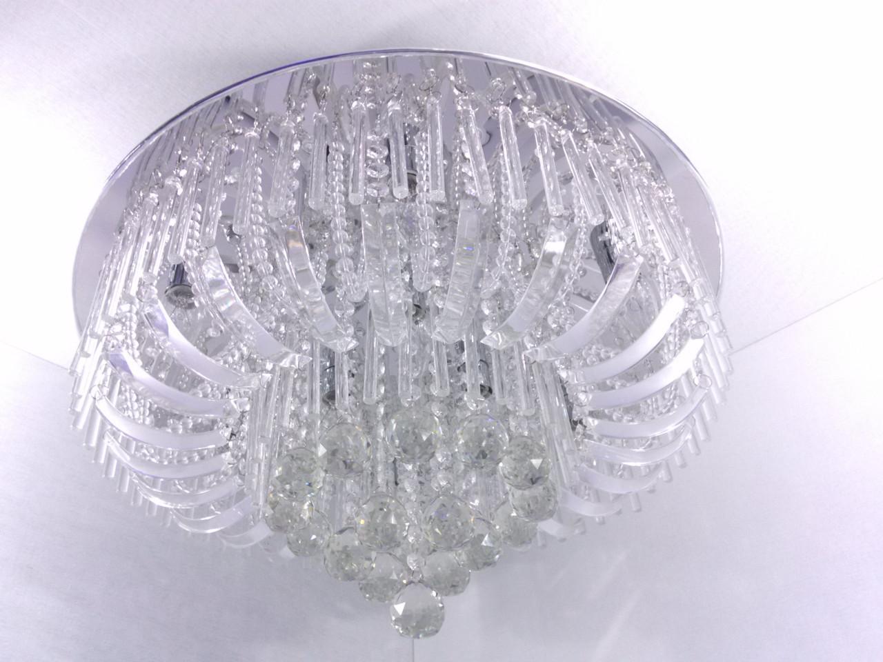 Люстра потолочная с цветной LED подсветкой YR-0711/600
