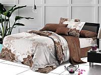 Двуспальный евро комплект постельного белья 200*220 (ранфорс)