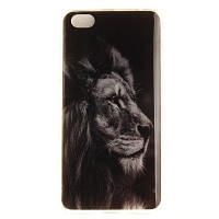 BLACK LION Soft Clear IMD TPU Корпус для мобильного телефона Смартфон Корпус Корпус для Xiaomi Redmi Примечание 5A Чёрный