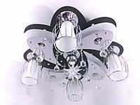 """Люстра потолочная """"Космос"""" с цветной LED подсветкой и автоматическим отключением YR-5520/4+1"""