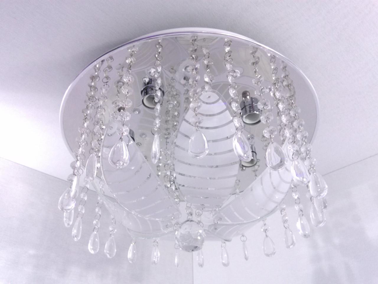 Люстра потолочная с цветной LED подсветкой и автоматическим отключением YR-19375/400