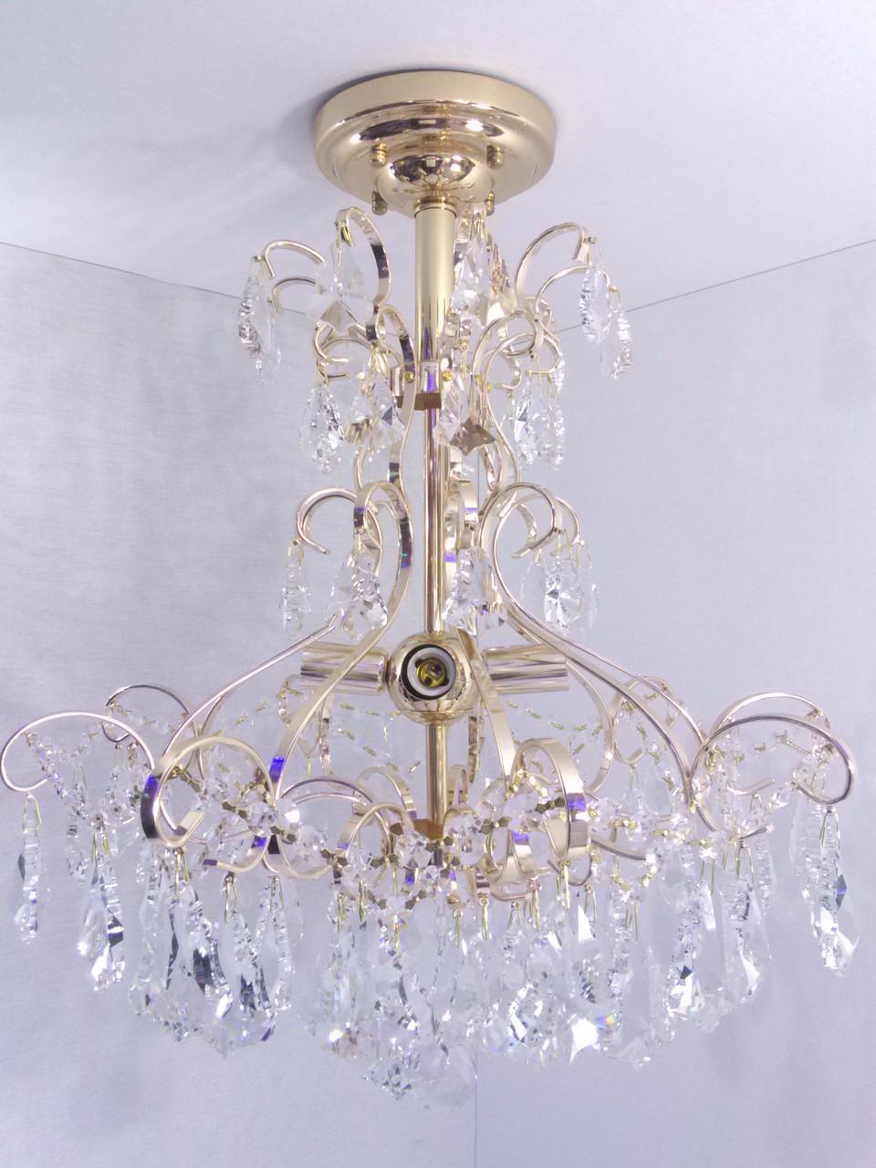 Люстра потолочная хрустальная YR-90050/4