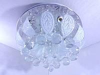 Люстра потолочная с цветной LED подсветкой YR-2166/350