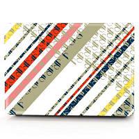 Компьютерная оболочка для ноутбука Кейс-клавиатура для MacBook Air 11,6-дюймовые 3D-цветастые геометрические фигуры Жёлтый