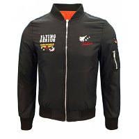 Осенняя и зимняя летная куртка Мужская прическа Мужская повседневная куртка Американская настольная бейсбольная одежда XL