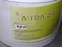 Смазка Литол-24 гост Экстра КСМ-ПРОТЕК (ведро 9кг) Смазка, AEHZX