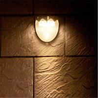 Творческий полукруглый солнечный светодиодный уличный фонарь сада Тёпло-белый свет