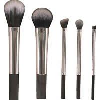 TODO Blending Brush Lip Eyeshadow Powder Beauty Cosmetic Tool 5PCS Серебристый