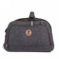 Lovoyager VB15003 Доступно для тележки Ручка Складная сумка для домашних животных Авиакомпания Утвержденный рюкзак для собак ОДНО SZIE