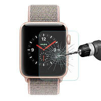 Hat-Prince 0,2 мм закаленное стекло пленка для 42-мм Apple Watch серии 3 Прозрачный