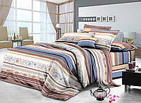 Семейный (2 пододеяльника) комплект постельного белья сатин