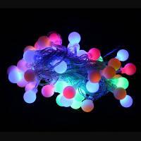 М 50leds 9м Водонепроницаемый Открытый RGB свет шнура для Рождественский праздник украшение RGB