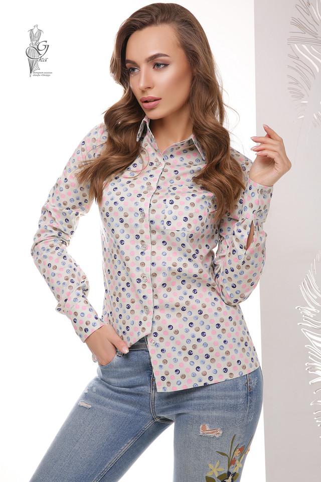 Подобные товары-4 Женской приталенной блузки Ромбус
