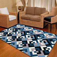 Коврик для постельного белья Classic Plaids Pattern Удобный мягкий толстый коврик для пола 40x60см
