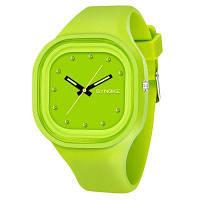 SYNOKE 4730 Мода Досуг Спорт Нейтральные Часы Кристалл Встроенный с коробкой Цвет папоротника
