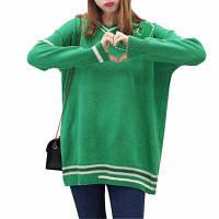 Осенний и зимний свитер с воротником