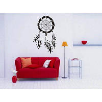 Декоративная наклейка с наклейкой на стену DSU Dream Catcher 43x71cм