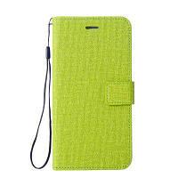 Хлопок Pattern кожаный чехол для Sony Xiaomi Redmi 3S Зелёный