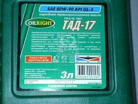 Масло трансмиссионное OIL RIGHT ТАД-17 ТМ-5-18 80W-90 GL-5 (Канистра 3л) 2546, AAHZX