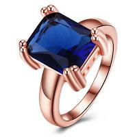 Изысканное женское кольцо с искусственным цирконом 7