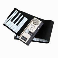 Iword S2027 Ручной ролл Фортепиано Гибкий Roll Up 61 клавиш Клавиатура Портативный силиконовый фортепиано 89X17.5X0.5CM