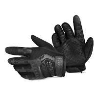 Пара нескользящих тактических перчаток Чёрный