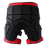 Нескользящие шорты с мягкой подкладкой Тазобедренный защитный протектор S
