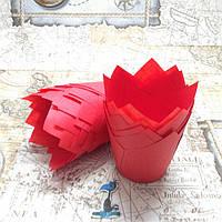 Бумажные формы Тюльпан Красные