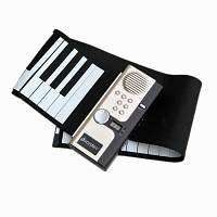 Iword S2027 Ручной ролл Фортепиано Гибкий Roll Up 49 клавиш Клавиатура Портативный силиконовый фортепиано 56X12X0.6 см