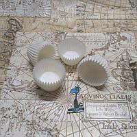 Бумажные формы для конфет Белые (30*24 мм.)