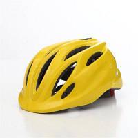Детский Велосипедный Регулируемый Шлем Со Светодиодами Унисекс С Рисунком Из Мультика Защитная Экипировка Жёлтый