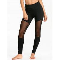 Спортивные штаны с сетчатой сеткой S